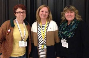 Deirdre and Kate with Dr Lisa Cameron, MP