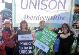 Proud to be in UNISON