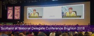 Aberdeenshire UNISON raises profile at National Delegate Conference