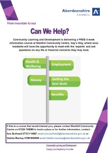 thumbnail of Westhill Money Matters Course Oct 2018 – final