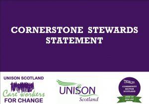 Cornerstone stewards' statement