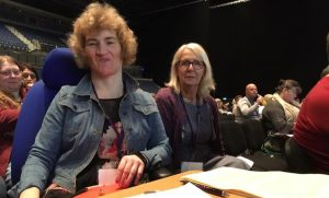 Kathleen Kennedy and Morag Lawrence