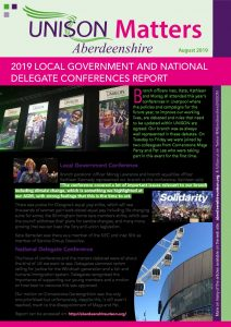 thumbnail of UNISON newsletter August 2019 web