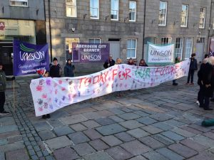 UNISON Scotland response to the consultation on the role of Public Sector Bodies in tackling climate change