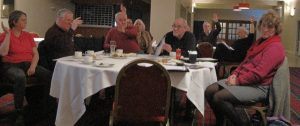 Members debate local and international issues at branch AGM