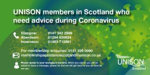 Corornavirus contact card