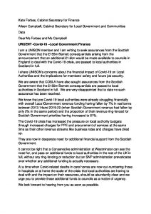 thumbnail of Letter to SG May 2020