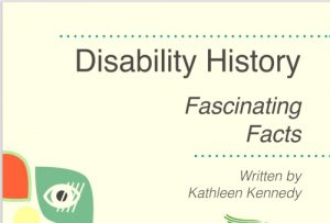 Disability History front sheet