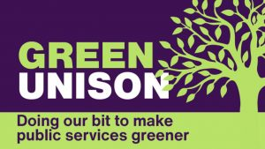 Celebrate Green UNISON week 18-26 September and build for COP26